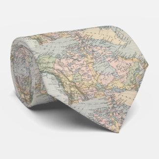Vintage Map of Canada (1892) Tie
