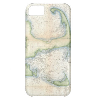 Vintage Map of Cape Cod 1857 Case For iPhone 5C