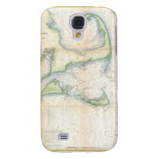 Vintage Map of Cape Cod 1857 Galaxy S4 Case