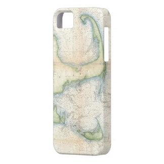 Vintage Map of Cape Cod 1857 iPhone 5 Covers