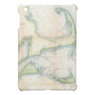 Vintage Map of Cape Cod (1857) Cover For The iPad Mini