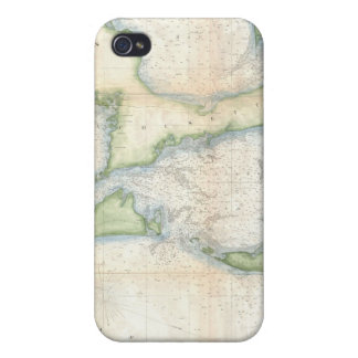 Vintage Map of Cape Cod 1857 iPhone 4/4S Cover