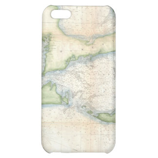 Vintage Map of Cape Cod 1857 iPhone 5C Cover