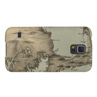 Vintage Map of Cape Cod 1885 Samsung Galaxy Nexus Covers