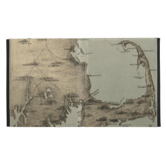Vintage Map of Cape Cod (1885) iPad Case