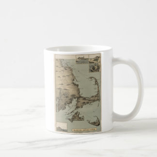 Vintage Map of Cape Cod (1885) Mug