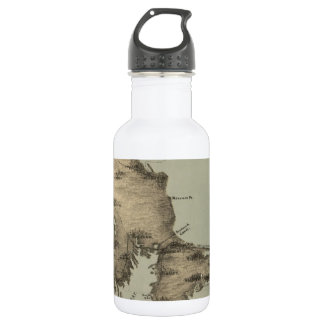 Vintage Map of Cape Cod (1885) Water Bottle