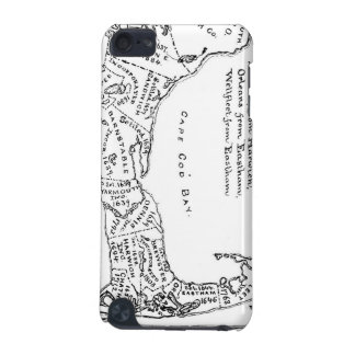 Vintage Map of Cape Cod 1890 iPod Touch (5th Generation) Cases
