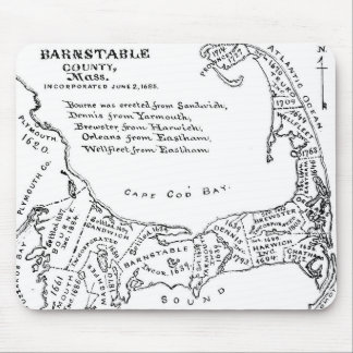 Vintage Map of Cape Cod (1890) Mouse Pad