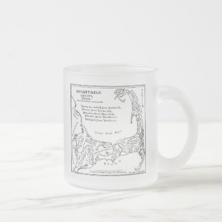 Vintage Map of Cape Cod (1890) Coffee Mugs