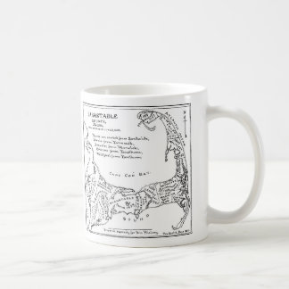 Vintage Map of Cape Cod (1890) Coffee Mug