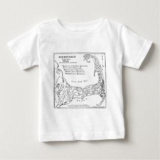 Vintage Map of Cape Cod (1890) T Shirt