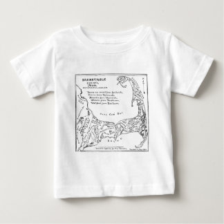 Vintage Map of Cape Cod (1890) Tshirts