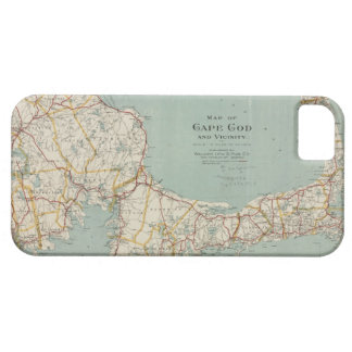 Vintage Map of Cape Cod 1917 iPhone 5 Case