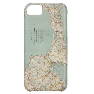 Vintage Map of Cape Cod 1917 iPhone 5C Covers