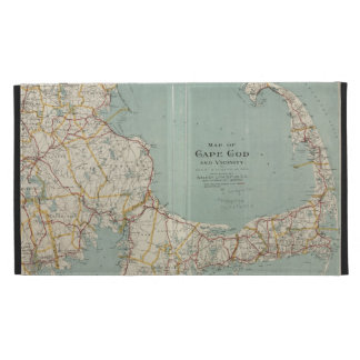 Vintage Map of Cape Cod (1917) iPad Case