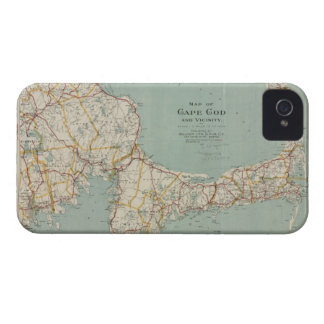 Vintage Map of Cape Cod (1917) iPhone 4 Cover