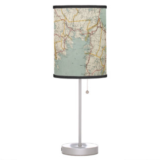 Vintage Map of Cape Cod (1917) Table Lamp