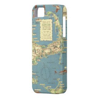 Vintage Map of Cape Cod (1940) iPhone SE/5/5s Case