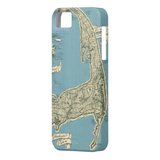 Vintage Map of Cape Cod 1945 iPhone 5 Cover