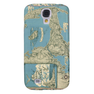 Vintage Map of Cape Cod 1945 Galaxy S4 Case