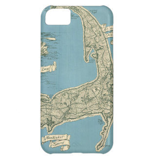 Vintage Map of Cape Cod 1945 iPhone 5C Cover