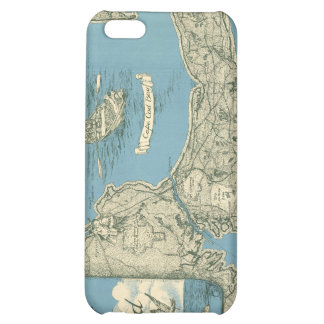 Vintage Map of Cape Cod 1945 Cover For iPhone 5C