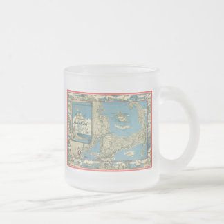 Vintage Map of Cape Cod (1945) Coffee Mug