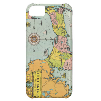 Vintage Map of Cape Cod iPhone 5C Cover