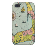 Vintage Map of Cape Cod iPhone 4 Cases