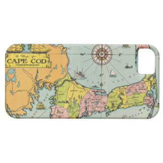 Vintage Map of Cape Cod iPhone 5 Cases