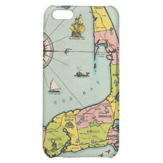 Vintage Map of Cape Cod iPhone 5C Cases