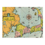 cape cod vintage map, vintage cape cod map, old