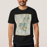 Vintage Map of Cape Fear (1857) T-Shirt