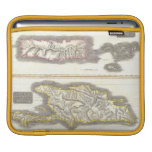 Vintage Map of Caribbean Islands (1815) Sleeves For iPads