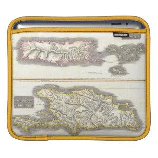 Vintage Map of Caribbean Islands (1815) iPad Sleeve