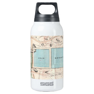 Vintage Map of Central Park (1860) 10 Oz Insulated SIGG Thermos Water Bottle