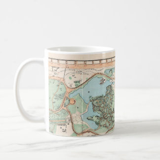 Vintage Map of Central Park (1860) Classic White Coffee Mug