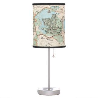 Vintage Map of Central Park (1860) Desk Lamp