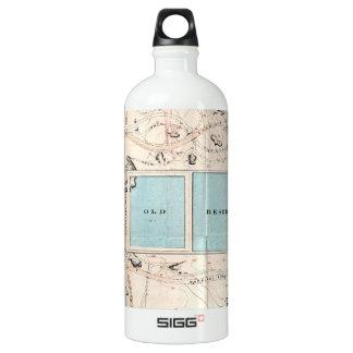 Vintage Map of Central Park (1860) SIGG Traveler 1.0L Water Bottle
