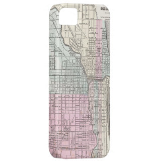 Vintage Map of Chicago (1855) iPhone SE/5/5s Case