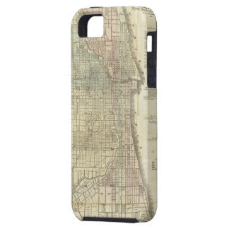 Vintage Map of Chicago (1857) iPhone SE/5/5s Case