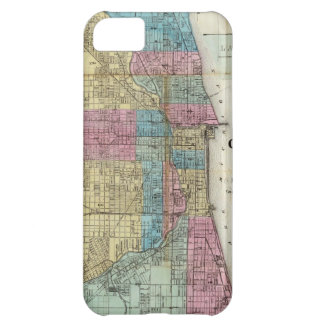 Vintage Map of Chicago (1869) iPhone 5C Case