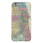 Vintage Map of Chicago (1869) iPhone 6 Case