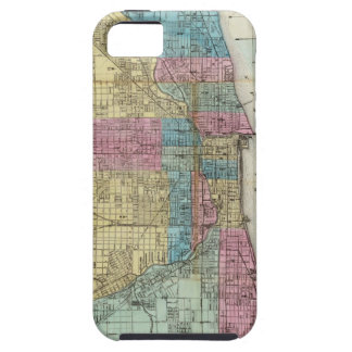 Vintage Map of Chicago (1869) iPhone SE/5/5s Case