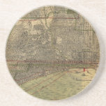 Vintage Map of Chicago (1892) Coaster