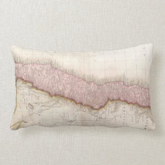 Vintage Map of Chile (1818) Lumbar Pillow