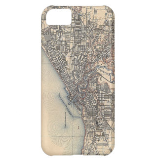 Vintage Map of Cleveland (1904) Cover For iPhone 5C