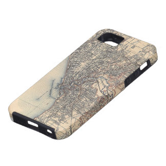 Vintage Map of Cleveland (1904) iPhone 5 Cases