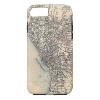 Vintage Map of Cleveland (1904) iPhone 7 Case